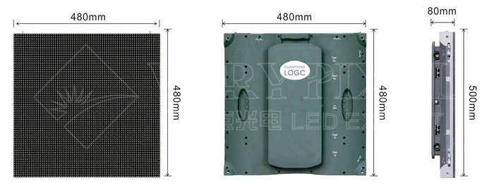 die -casting led display indoor