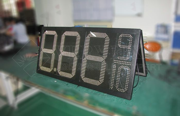 8.88 9/10 led oil price board