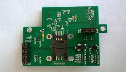 SIM card into a 3G module