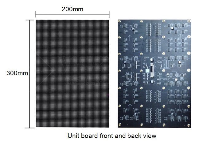 small pitch PH2.5mm indoor led display screen