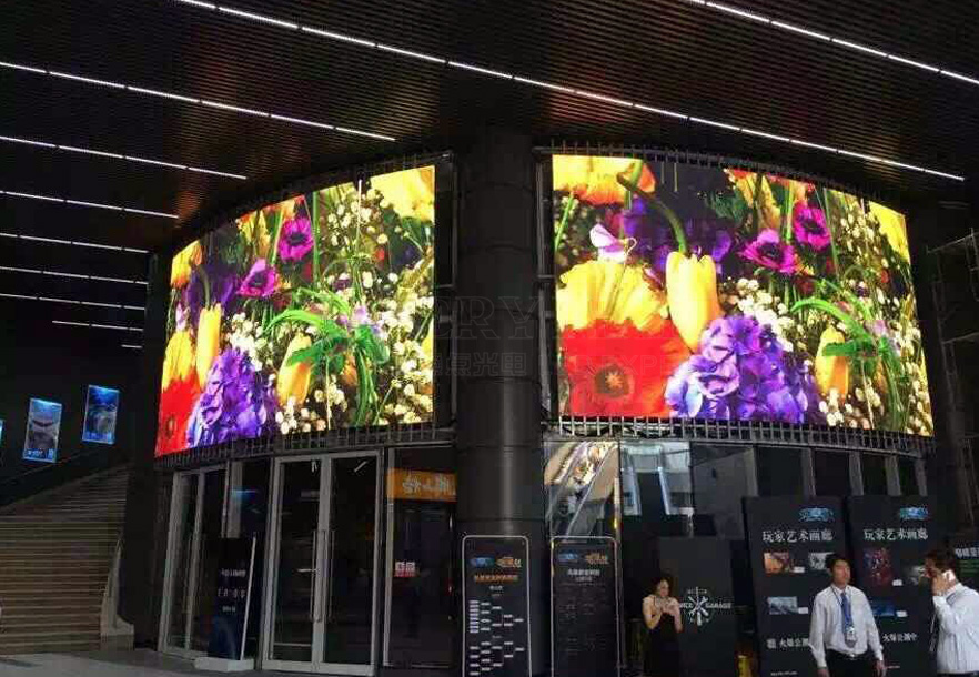 P6 Curved LED Display on China Joy