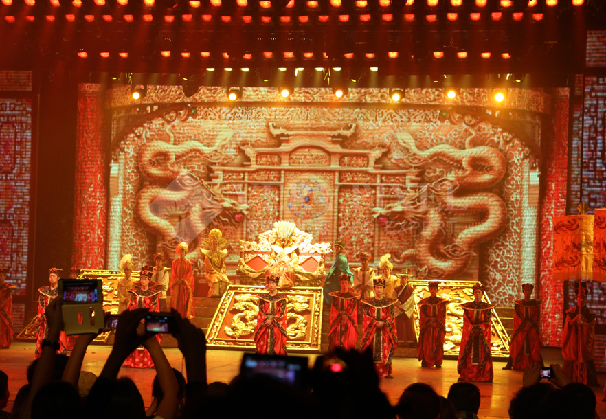 P4 indoor Stage Display in SongCheng Hangzhou