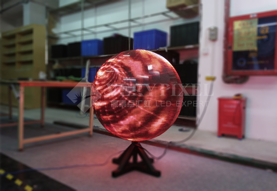 P6 Indoor LED Ball in Slovenia