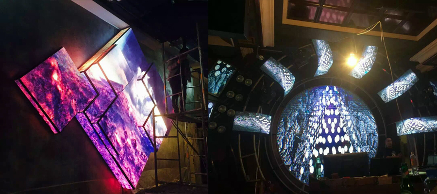 Creative LED display panels