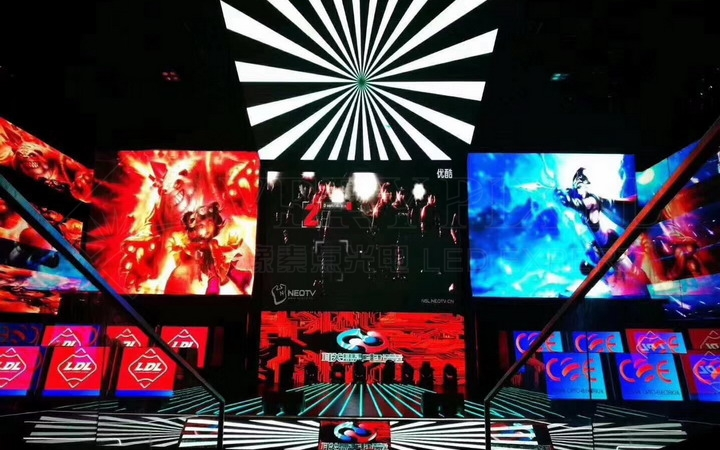 P6 indoor stage high-definition LED full-color display
