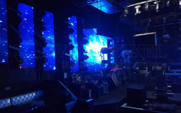 P6.6 Indoor LED Display Shining at American Bar